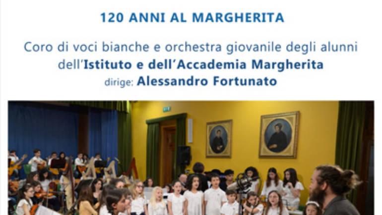 In cammino con la musica …120 anni al Margherita